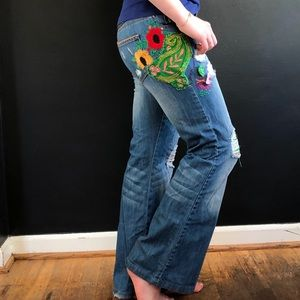 Jeans - Hand Altered